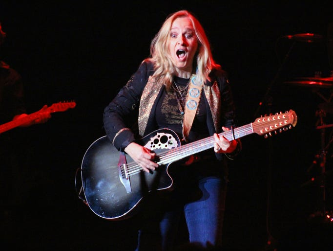 Melissa Etheridge performs at the Weill Center in Sheboygan