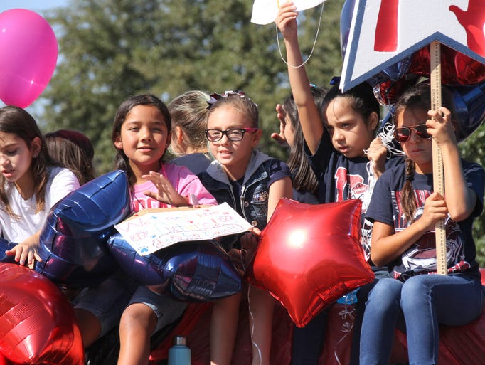 Chaparral Elementary School students look forward to