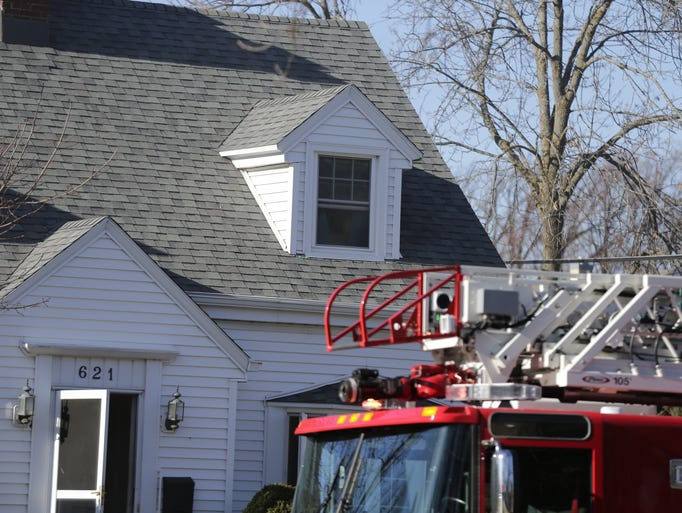 Oshkosh Fire Department responded to a house fire about