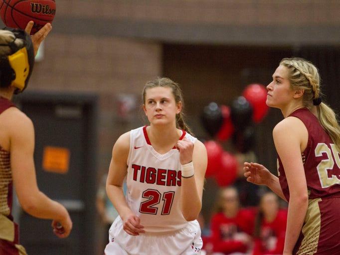 Hurricane High Girls Basketball takes on Cedar High