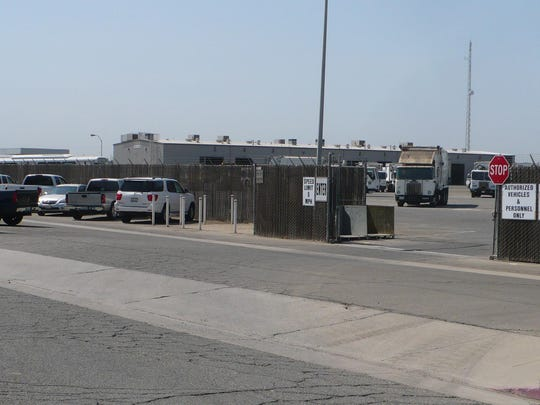 The Tulare City Council and the Tulare Board of Public Services will consider approving a contract for a master program calling for improving the Tulare Corporation Yard, 3989 S. K St., pictured Tuesday.