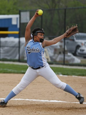 Olivia Jackson got the win in Boone County's win Monday.