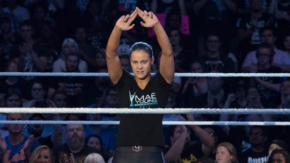 Sioux Falls native Shayna Baszler recently signed with
