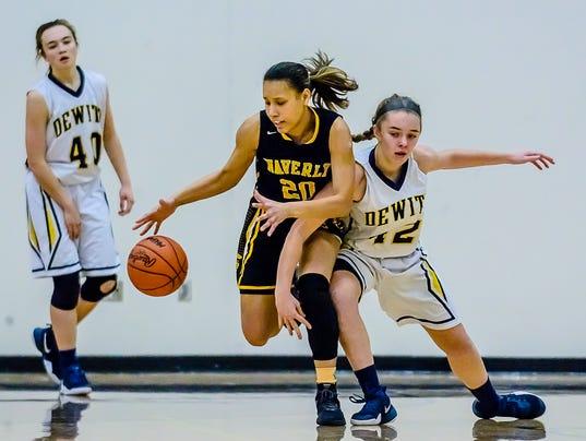Waverly vs DeWitt Girl's-Boy's  Basketball