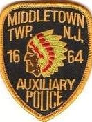 Middletown Police Auxiliary Patch