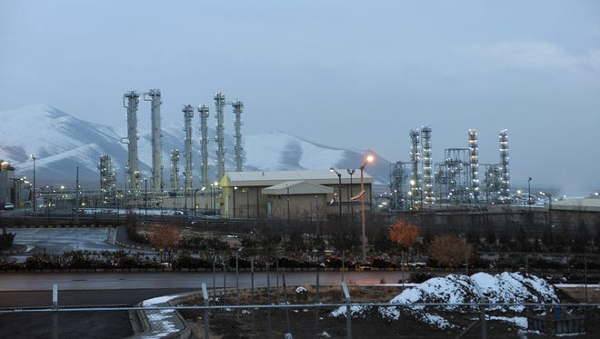 This Jan. 15, 2011, file photo shows the heavy water nuclear facility near Arak, Iran. Six world powers reached a landmark nuclear deal with Iran on July 14, 2015.