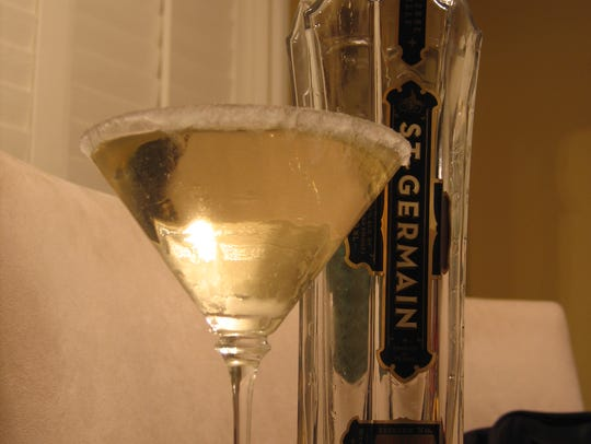 A St-Germain cocktail.