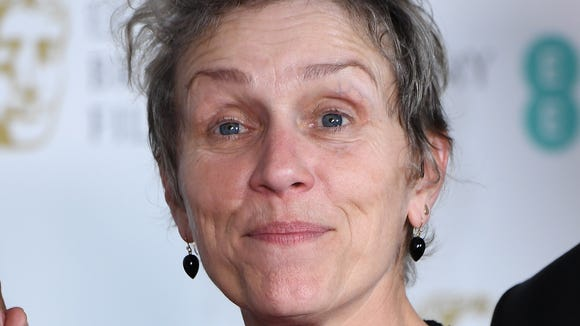 Frances McDormand has been on the swear-free awards