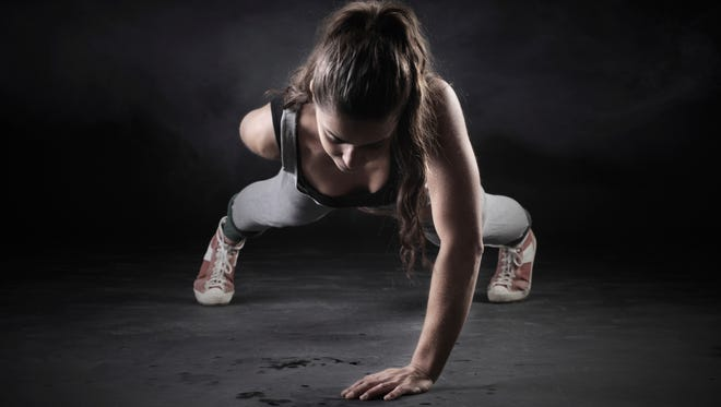 The two hottest fitness trends for 2014 are high-intensity interval training and body weight training.