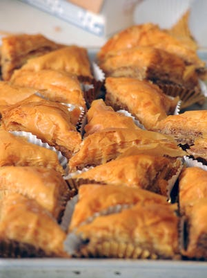 Baklava is one of the most popular dishes served at the Pensacola Greek Festival, which returns to Annunciation Greek Orthodox Church this weekend.