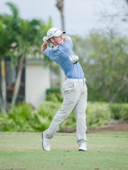 Professional golfer Chase Marinell of Cape Coral participated