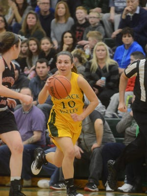 Junior guard Toriana Tabasco and Pascack Valley (9-0) are back on top of the The Record's girls basketball Top 25.