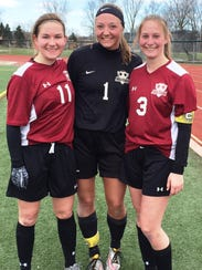 Milford's girls soccer fortunes will rest on (from