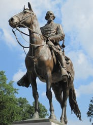 Statue of Confederate Gen. Nathan Bedford Forrest