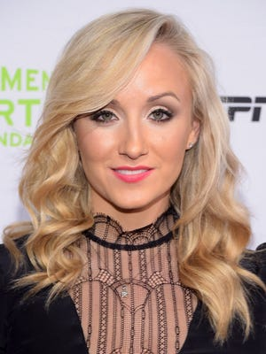 Gymnast Nastia Liukin attends the 35th Annual Salute To Women In Sports event at Ciprani Wall Street on Oct. 15, 2014 in New York City.