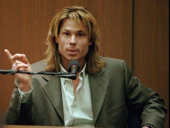 "Witness Brian ""Kato"" Kaelin testifies under direct"
