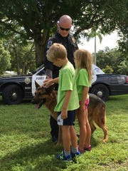 Zeus and Fort Myers Police Department officer William