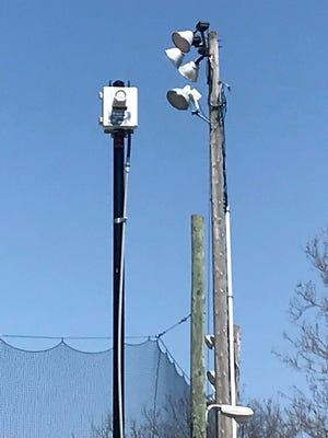 Noblesville bought nine lightning detecors