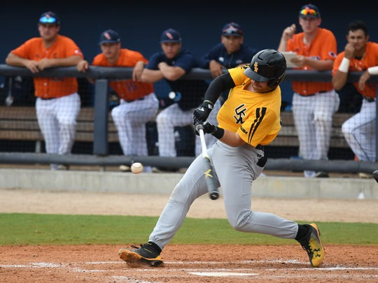 Southern Miss third baseman Luke Reynolds is the first