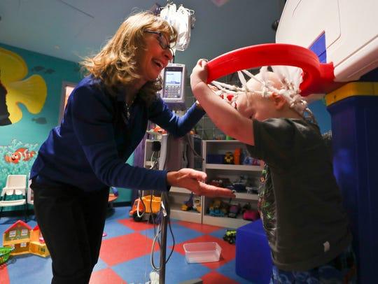 Norton Children's Hospital volunteer Barbara Bernard