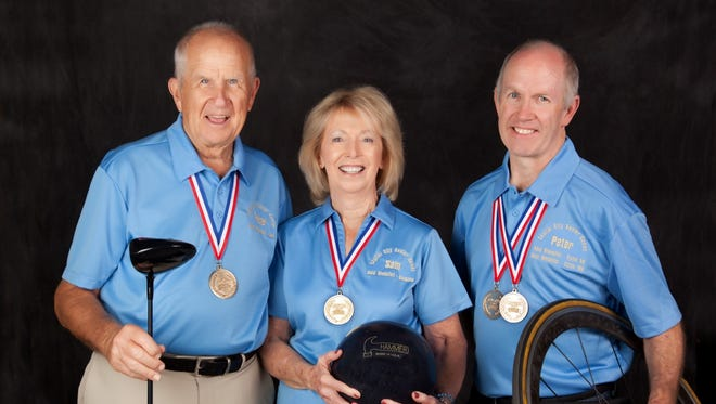 The Butler family will be competing in the state senior games this fall.