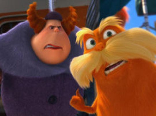 A scene from the Lorax, courtesy of Gannett: Annoyed by talkative co-workers?