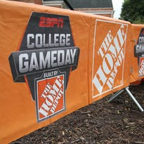 Clemson hosts ESPN College Gameday prior to its matchup with Louisville.