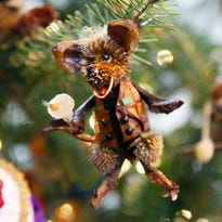 River rat with martini, painter, cyclist among new 'critters' at Brandywine ornament sale
