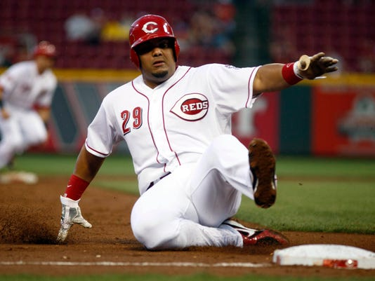 MLB: Milwaukee Brewers at Cincinnati Reds