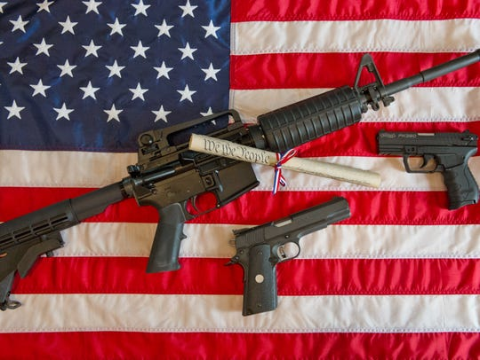 Americans own 42% of about 650 million civilian firearms