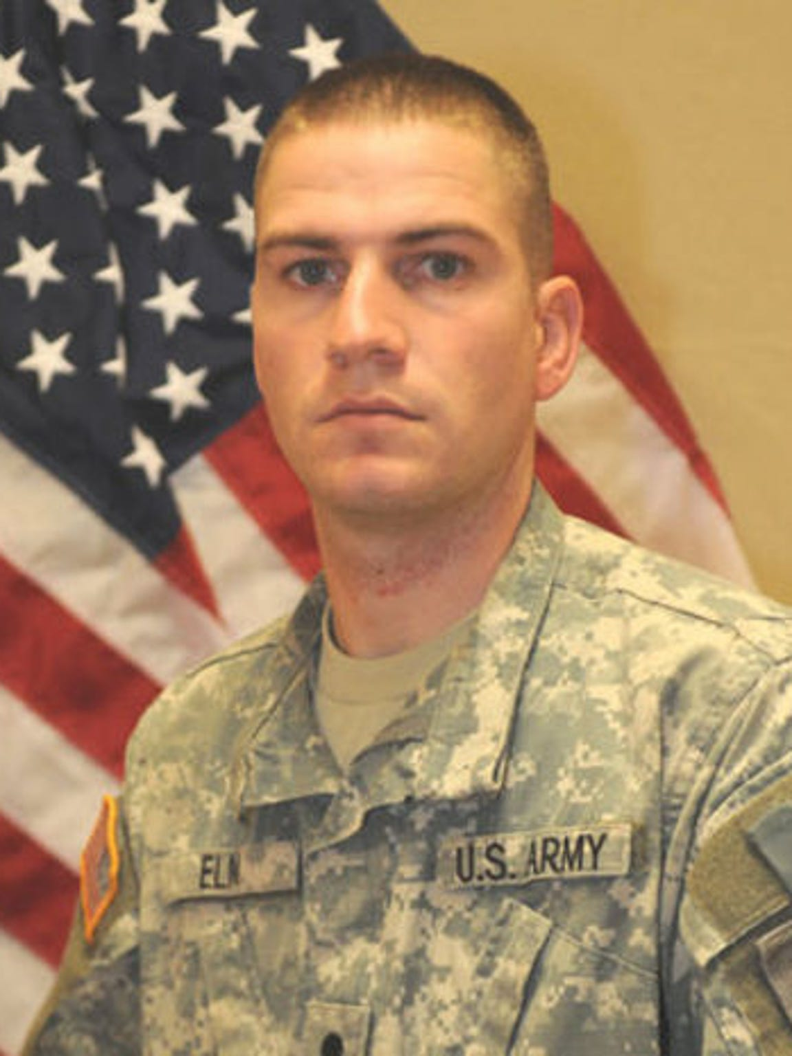 Michael Elm, 25, of Phoenix, died Oct. 14, 2011, of wounds suffered when insurgents attacked his unit with an improvised explosive device in Afghanistan. He was assigned to Company A, 1st Battalion, 26th Infantry Regiment, 3rd Brigade Combat Team, Fort Knox, Ky.