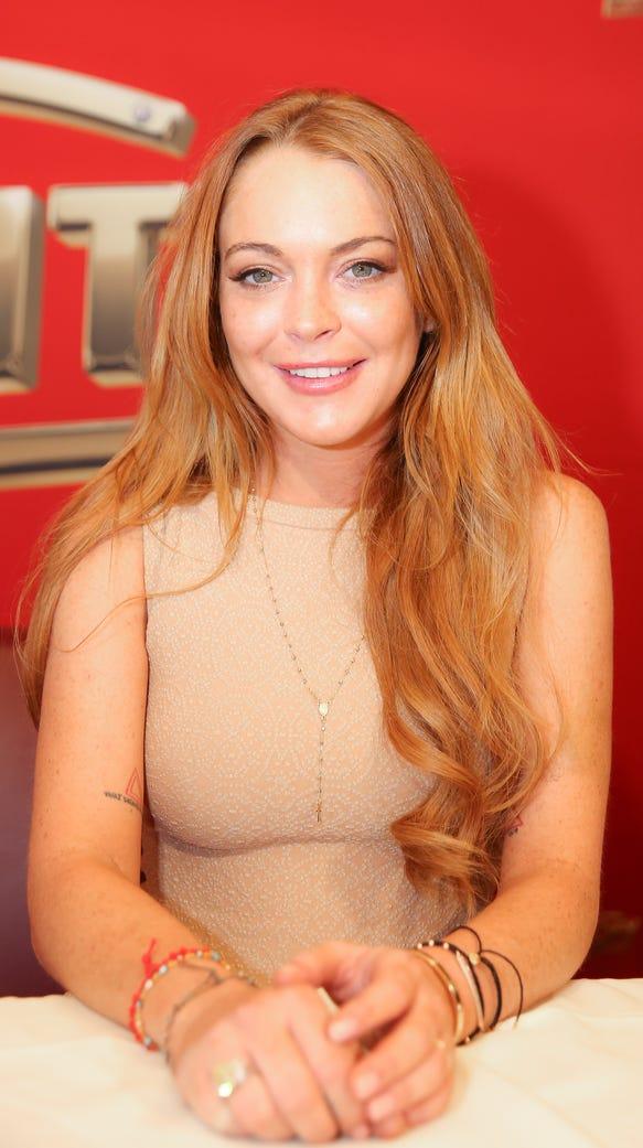 Lindsay Lohan in 2020? She announces a bid on Instagram.