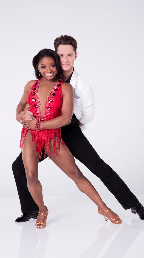 dancing with the stars premiere recap simone biles
