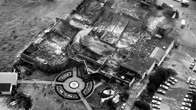 Scenes from the 1977 Beverly Hills Supper Club fire.