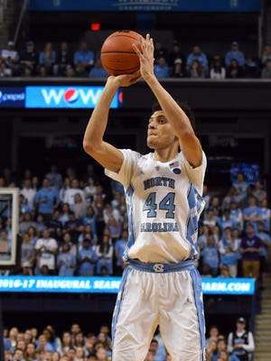 North Carolina Tar Heels forward Justin Jackson.