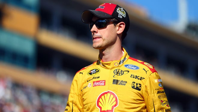 Joey Logano doesn't mind getting booed.