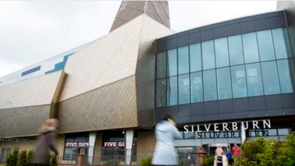 The Silverburn shopping center in Glasgow, Scottland.