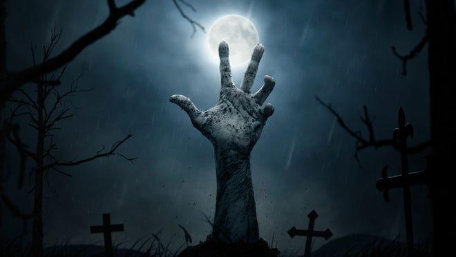 Zombies, creepy clowns, warlocks - it's the Halloween season.