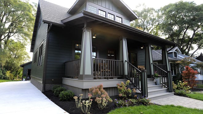 The 1,500-square- foot home — redone from top to bottom by a local architect and contractor, along with HGTV's team — is now valued at more than $700,000.