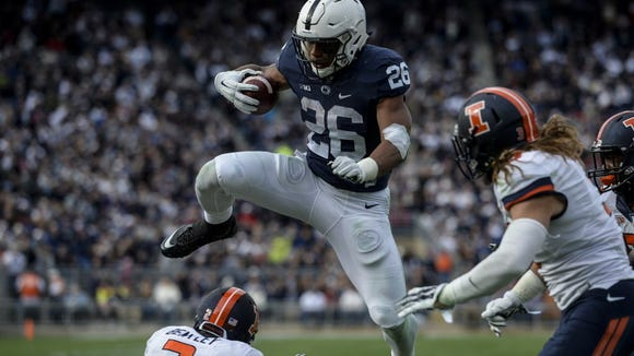 Saquon Barkley was a rookie revelation last season. And he's primed for more this fall. How much more?
