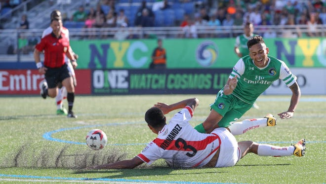 The New York Cosmos are one of just eight teams remaining in the North American Soccer League.