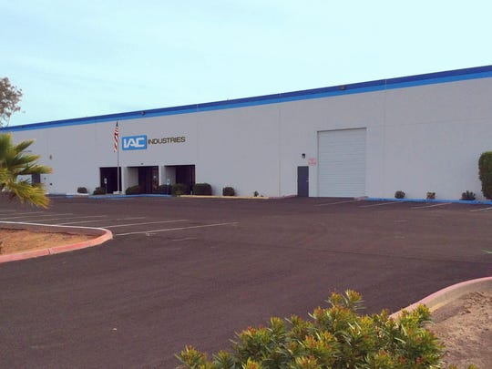 Industrial and laboratory furniture maker IAC Industries is relocating from Brea, California to Goodyear. Its manufacturing plant will be fully operational by early May 2018.
