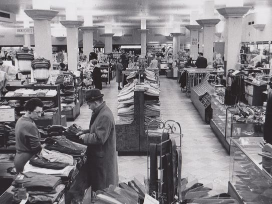 H.P. Wasson and Co. took the lead in innovative shopping