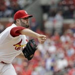 St. Louis Cardinals starting pitcher Lance Lynn (11-9) surrendered six runs in 21/3 innings on nine days rest after spraining an ankle in his last start as the Cubs whipped the Cardinals 9-0 on Monday afternoon.