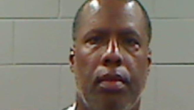 This undated photo provided by Rankin County Jail shows Terry Mayor Roderick Nicholson. Nicholson resigned after pleading guilty to five counts of embezzlement.