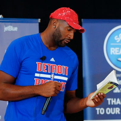 Q&A with Pistons star Andre Drummond about his off-season