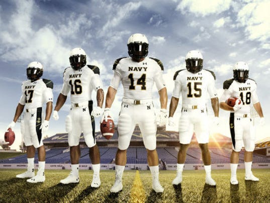 Ohio State to face Navy Saturday; Navy has new uniforms