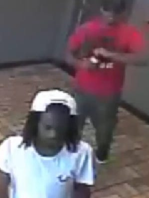 Surveillance video shows two of three suspects in recent shooting near Broadway and Stevens Street in downtown Camden.