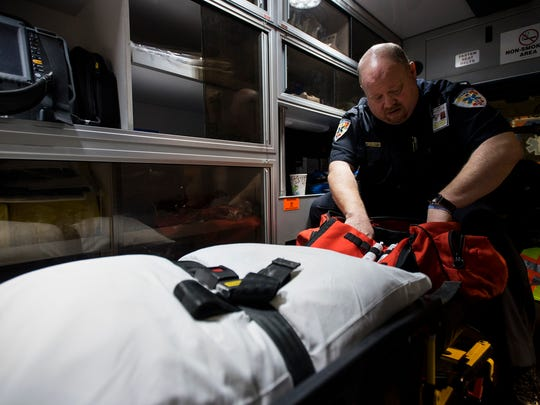 Tr-Hospital EMS staff are still reporting to work following exposure to a patient with coronavirus. A CDC interim guideline change allows first responders who have been exposed to the virus to report to work if they are not showing symptoms and they wear a mask at all times.