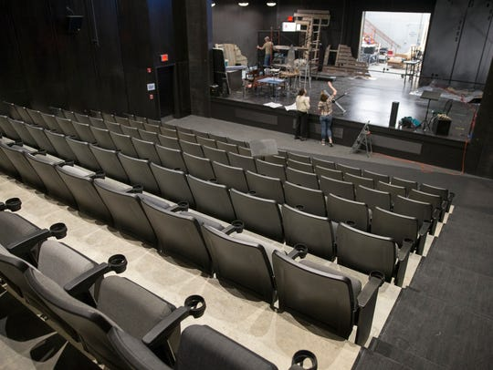 The Russell is a 144-seat proscenium theater at the Phoenix Theater Cultural Center.